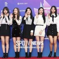 Pristin di Red Carpet Seoul Music Awards 2018