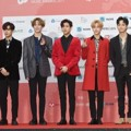 GOT7 di red Carpet Gaon Chart Music Awards 2018