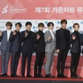 Seventeen di Red Carpet Gaon Chart Music Awards 2018