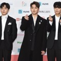 NU'EST W di Red Carpet Gaon Chart Music Awards 2018