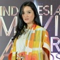 Marcella Zalianty di Konferensi Pers Indonesia Movie Actors Awards 2018
