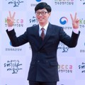 Yoo Jae Seok di Red Carpet Korean Popular Culture And Art Awards 2018