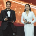 Shin Hyun Joon dan Lee Ji Ae Bertugas Sebagai MC di Korean Popular Culture And Art Awards 2018