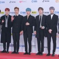 Monsta X di Red Carpet SBS Gayo Daejun 2018