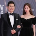 Kim Yong Man dan Seohyun SNSD di Red Carpet MBC Drama Awards 2018